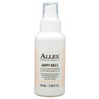 "Спрей""Happy Nails"", средство для обезжиривания ногтей и снятия липкого слоя, 100 мл."