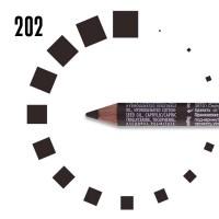 """Карандаш для БРОВЕЙ """"РЕСНИЧКА"""", №202, серо-коричневый"""
