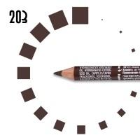 """Карандаш для БРОВЕЙ """"РЕСНИЧКА"""", №203, коричневый"""