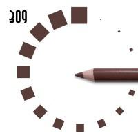 """Карандаш для ГУБ """"РЕСНИЧКА"""", №309, коричневый, матовый"""