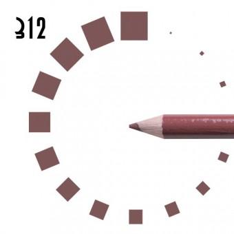 """Карандаш для ГУБ """"РЕСНИЧКА"""", №312, розово-коричневый, матовый"""