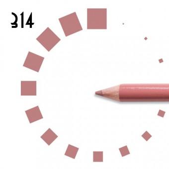 """Карандаш для ГУБ """"РЕСНИЧКА"""", №314, светло-розовый, холодный, матовый"""
