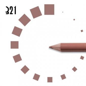"""Карандаш для ГУБ """"РЕСНИЧКА"""", №321, розово-коричневый, светый, матовый"""