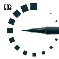 "Подводка-фломастер""РЕСНИЧКА"", №503, темно-бирюзовая"