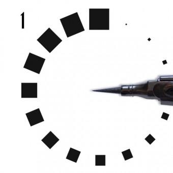 """Подводка """"РЕСНИЧКА"""", №001, во флаконе с аппликатором, черная"""