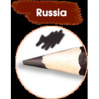 """Карандаш для ГЛАЗ и ВЕК """"РЕСНИЧКА"""", №000Р, черный, аква"""