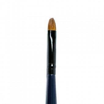 Кисть №С83-02, для нанесения помады длинная, раскладная JOLLY, 6 мм, Колонок
