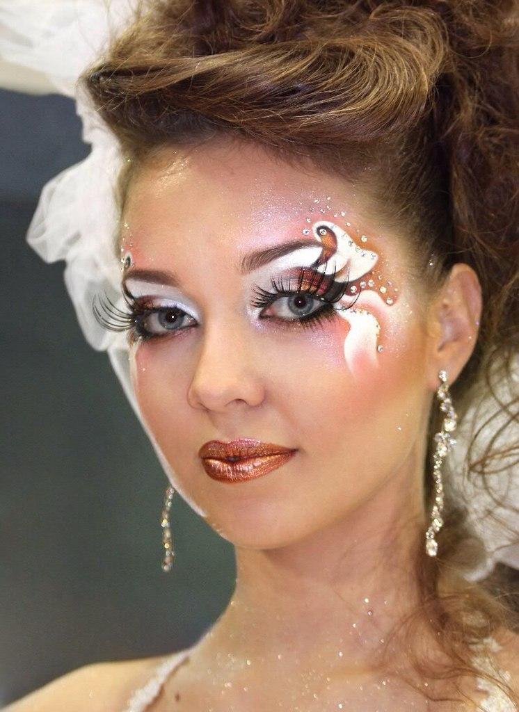 свадебный макияж видео мастер-класс
